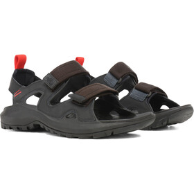 The North Face Hedgehog III Sandalias Hombre, tnfblack/asphgr